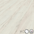 Laminátová podlaha Dub Craft Bílý
