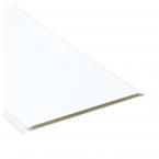 Stěnové obklady PVC Bílá mat