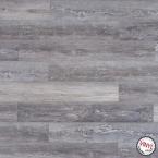 Podlaha vinylová plovoucí Dub tmavě šedý