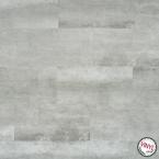 Podlaha vinylová plovoucí Beton světlý