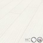 Laminátová podlaha Hicora Bílá