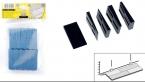 Plastové distanční klínky