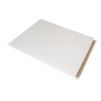 Stěnové obklady PVC Ecoline bílá